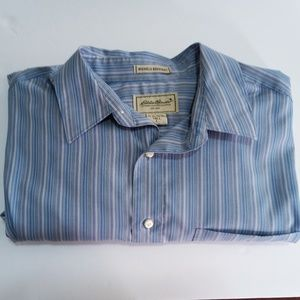 Eddie Bauer Wrinkle Resistant Men's Button Down